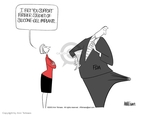 Ann Telnaes  Ann Telnaes' Editorial Cartoons 2003-10-08 administration