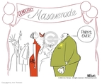 Ann Telnaes  Ann Telnaes' Editorial Cartoons 2004-04-07 democracy