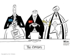 Ann Telnaes  Ann Telnaes' Editorial Cartoons 2006-02-28 freedom of expression