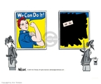 Ann Telnaes  Ann Telnaes' Editorial Cartoons 2001-09-25 rights of women