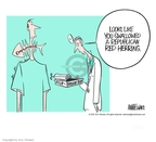 Ann Telnaes  Ann Telnaes' Editorial Cartoons 2001-06-20 distraction