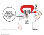 Ann Telnaes  Ann Telnaes' Editorial Cartoons 2001-06-05 support