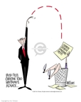 Ann Telnaes  Ann Telnaes' Editorial Cartoons 2001-03-27 EPA Administrator