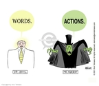 Ann Telnaes  Ann Telnaes' Editorial Cartoons 2001-02-01 Jekyll and Hyde