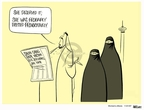Ann Telnaes  Ann Telnaes' Women's  eNews Cartoons 2007-11-21 Saudi Arabia