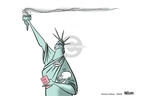 Ann Telnaes  Ann Telnaes' Women's  eNews Cartoons 2008-07-29 rights of women