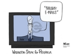 Ann Telnaes  Ann Telnaes' Women's  eNews Cartoons 2006-10-03 Congress
