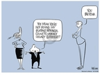 Ann Telnaes  Ann Telnaes' Women's  eNews Cartoons 2008-10-12 John McCain