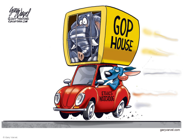 GOP House. Ethics Watchdog.