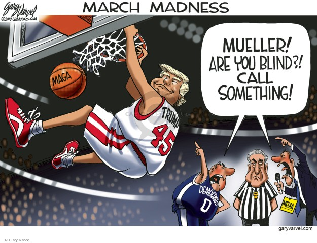 March Madness.  Mueller!  Are you blind?!  Call something!