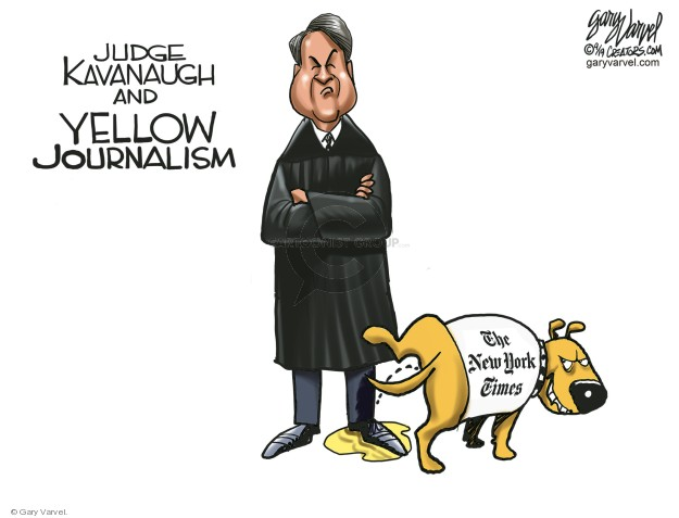 Judge Kavanaugh and Yellow Journalism. The New York Times.