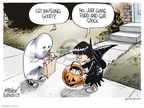 Gary Varvel  Gary Varvel's Editorial Cartoons 2008-10-16 investment