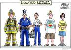 Gary Varvel  Gary Varvel's Editorial Cartoons 2011-08-17 officer