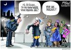 Gary Varvel  Gary Varvel's Editorial Cartoons 2013-02-17 officer