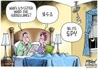 Gary Varvel  Gary Varvel's Editorial Cartoons 2013-06-19 spy
