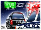Gary Varvel  Gary Varvel's Editorial Cartoons 2014-03-19 officer
