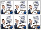 Gary Varvel  Gary Varvel's Editorial Cartoons 2015-03-15 Justice Department