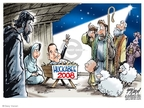 Gary Varvel  Gary Varvel's Editorial Cartoons 2007-12-19 Mike Huckabee