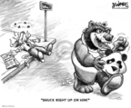 Karl Wimer  Karl Wimer Financial Cartoons 2007-03-03 China